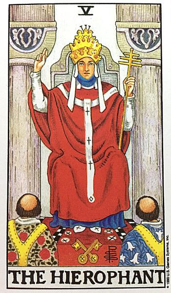 5法王 タロット