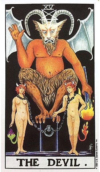 15悪魔 タロットカード