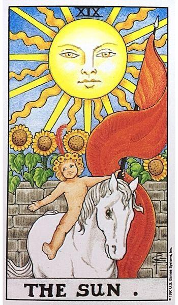 タロットカード 19 太陽