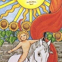 19太陽 タロットカード ひまわり