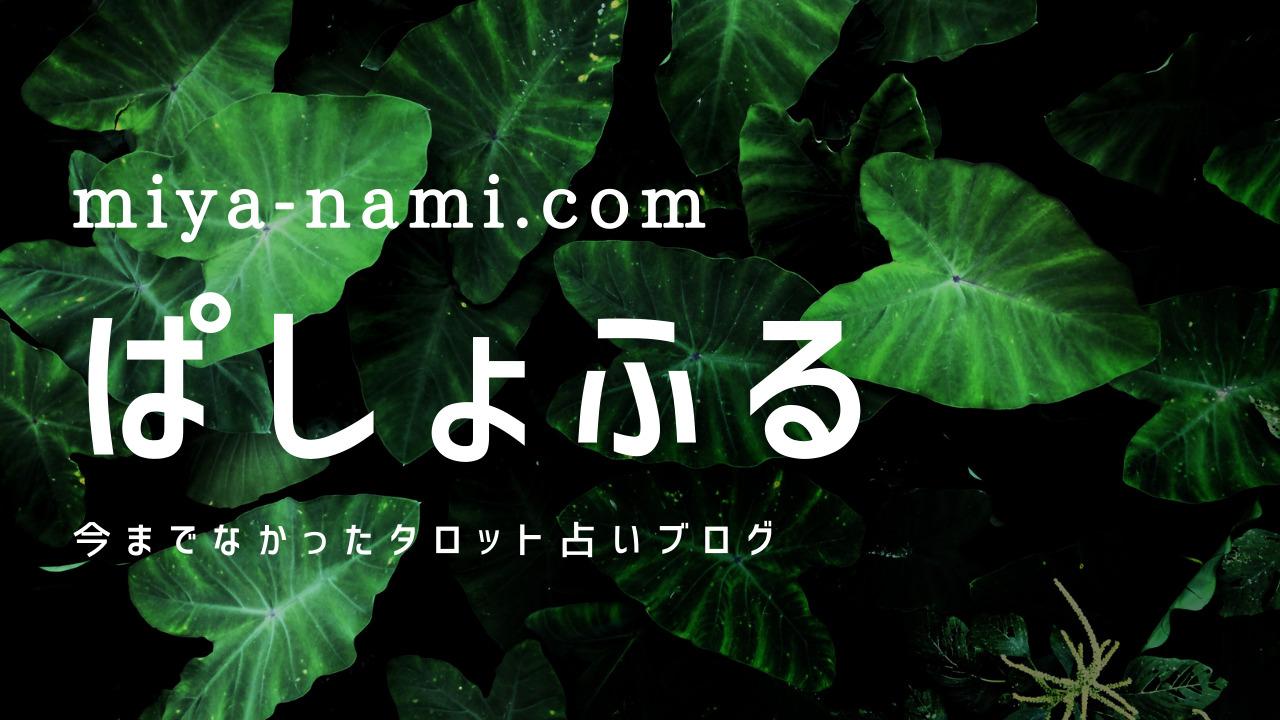 miya-nami.com ぱしょふる 今までなかったタロット占いブログ