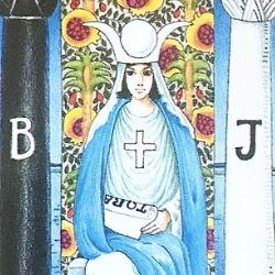 2女教皇 タロット