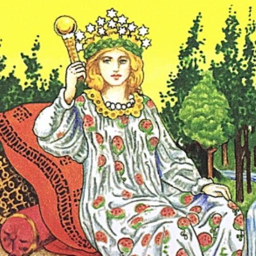 3女帝 エンプレス タロットカード